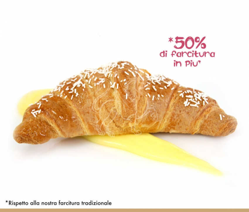 Croissant Superfarcito Crema - Pronta Cottura