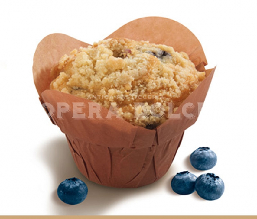 Muffin 120g mirtilli